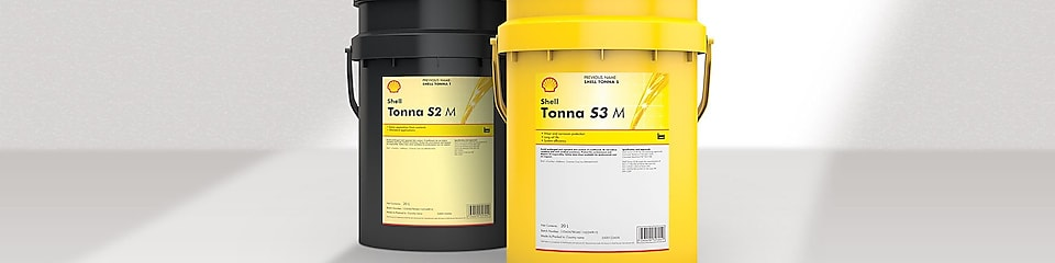 Shell Tonna - Slideways oil packages